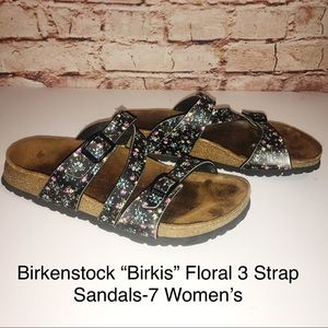 "Birkenstock ""Birkis"" Salina Floral Buckle Sandal-7"